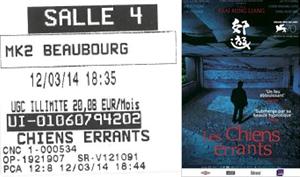 """730 -[12.03.2014 : """"Les Chiens Errants""""]"""