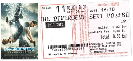 """735 -[""""Divergent 2""""]"""