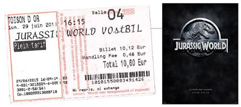 "741 -[""Jurassic World""]"