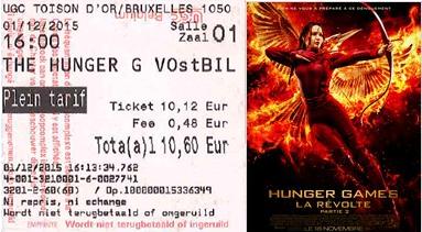 """744 -[""""Hunger Games La Revolte partie 2""""]"""