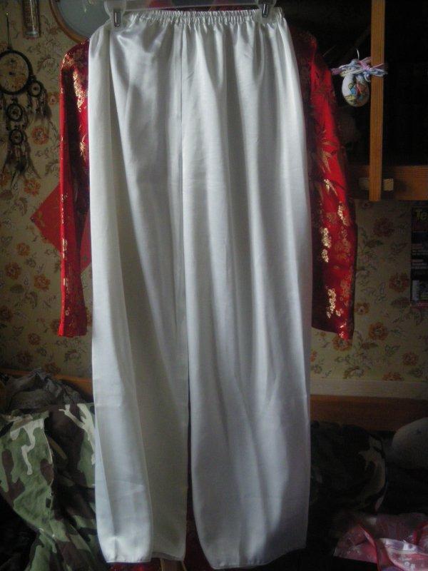 pantalon soie pr robe chinoise