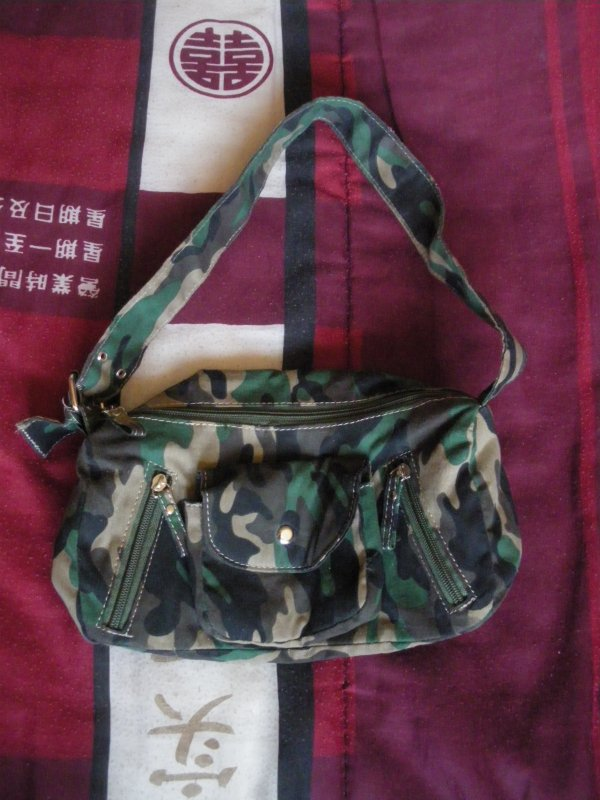 sac a main militaire camouflage