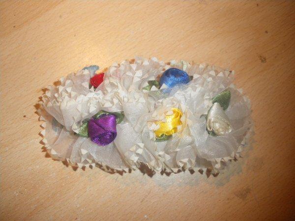 pince fleur blanche