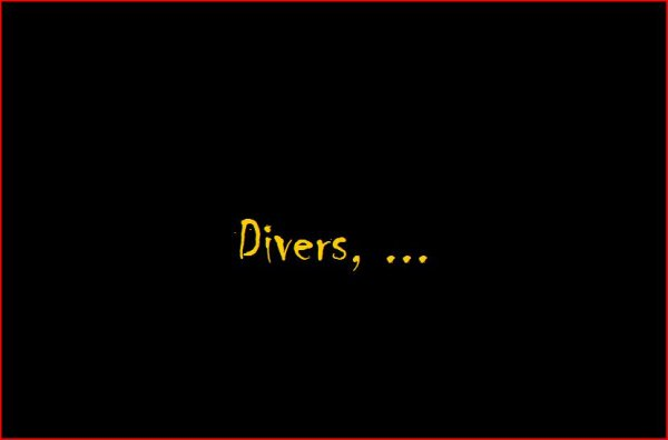 divers, ...
