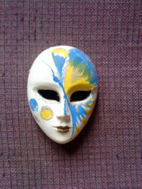 masque decoré