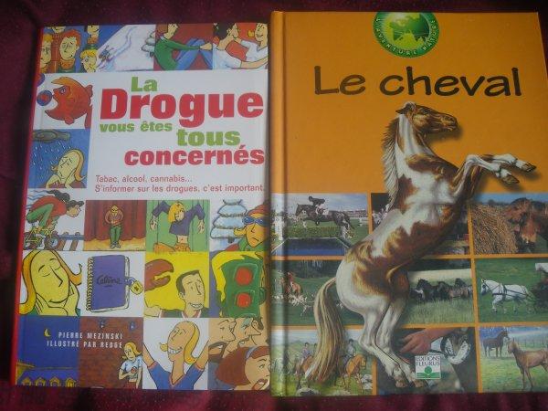 livre drogue et cheval