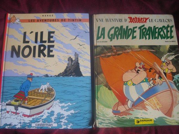 bd asterix et tintin