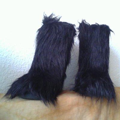 bottes yeti noires
