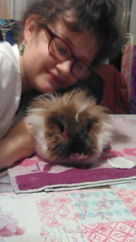 Lilou et moi.
