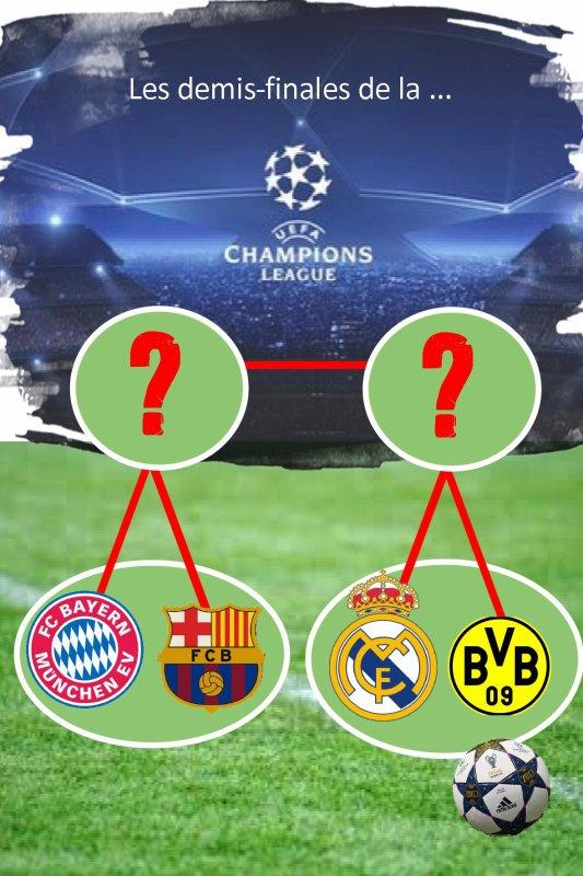 Demi-Finale 'Ligue des Champions'
