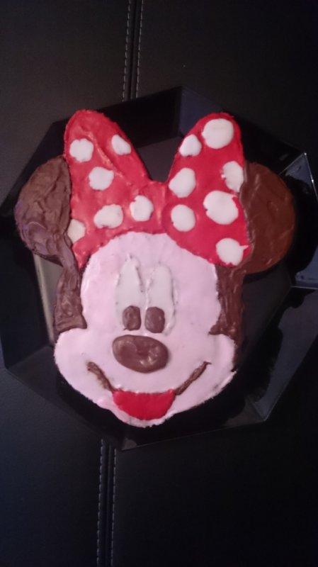 Apres Mickey enfin Minnie je la fait