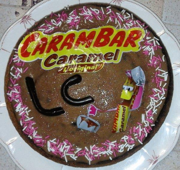 gâteau aux carambars :)