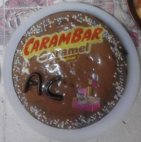 retour du gâteaux aux carembars