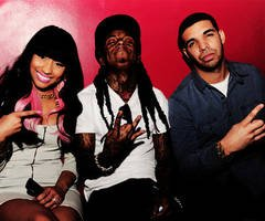 Nicki Minaj - Lil Wayne - Drake. ♥