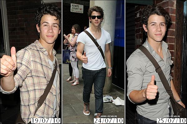 * Mais ... quelles sont les habitudes de Nick pour les paparazzis  ..?  %)    *