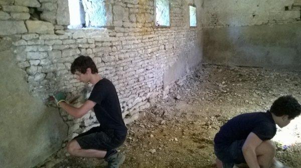 La chapelle/ le camp de pâques