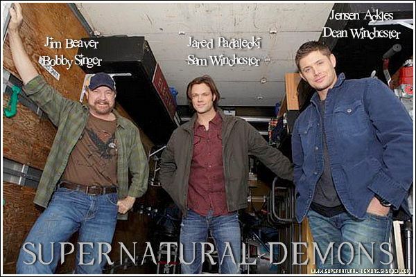 . 20/12/10 : Découvrez une des photos sur le plateau de tournage de SUPERNATURAL  saison 6.  .