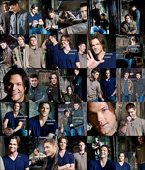 . FLASHBACK___Ancien photoshoot extraordinaire (pour moi) de SUPERNATURAL avec Sam Winchester et Dean Winchester. Vos avis? .