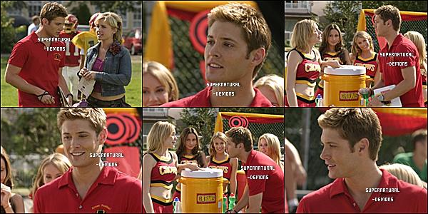 . FLASHBACK__Découvrez quelques photos de la saison 4 épisode 3 et 8 de Smallville ou Jensen jouait.  .