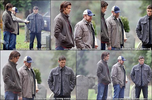 . 18/01/11 : Jared.P et Jensen.A ont été aperçu sur le tournage de SUPERNATURAL saison 6 en plein tournage à Vancouver.  .