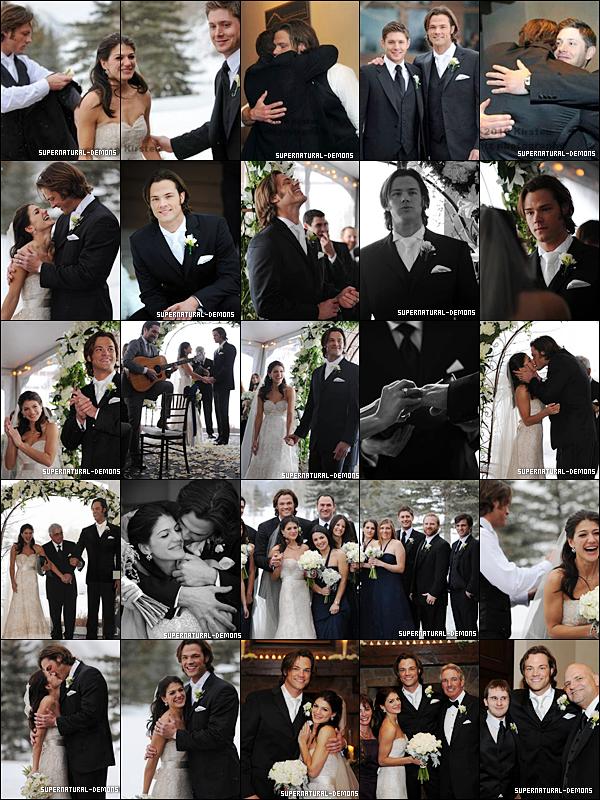 . FLASHBACK___Découvrez les photos du mariage entre Jared Padalecki et Genevieve Cortese, qui jouait RUBY dans SUPERNATURAL, qui avait eu lieu le 27 Février 2010.  ICI une nouvelle vidéo de l'épisode 12 saison 6 de SUPERNATURAL «Like a Virgin (Comme une vierge)».