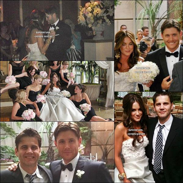 . FLASHBACK___Découvrez quelques photos du mariage de Jensen Ackles et Danneel Harris qui avait eu lieu de 17 mai 2010.    Désoler pour le manque de photo. Si j'en trouve plus je les mettrais sur mon blog.