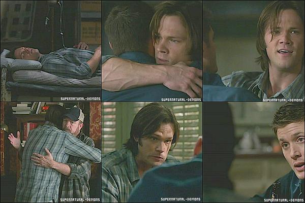. 10/02/11 : Découvrez les photos de l'épisode 12 saison 6 de SUPERNATURAL «Like a Virgin (Comme une vierge).» Le retrour de Sam est trop émouvant. Et oui Sam est de retour, c'est vraiment lui. Regarder vite l'épisode. .