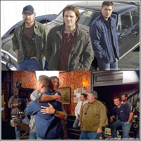 . 9/03/11 : Découvrez quelques photos sur le plateau de tournage de SUPERNATURAL pour l'épisode 12 saison 6 «Like a Virgin (Comme une vierge).»  .