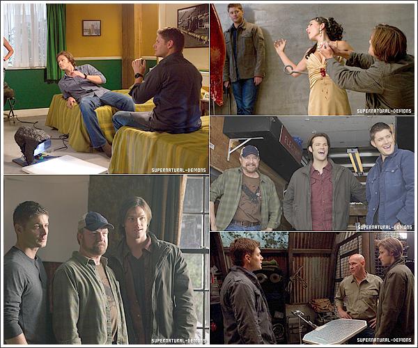 . 28/03/11 : Découvrez de nouvelles photos magnifiques de Jared Padalecki et Jensen Ackles sur le tournage de SUPERNATURAL saison 6. .