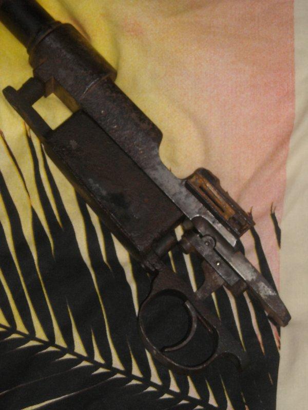 Des piéces qui manquer pour le Mauser G98