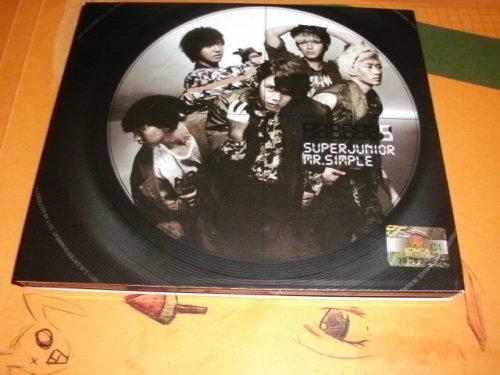 Images du CD m.simple  pour Park-Ae-Tae. Part.1