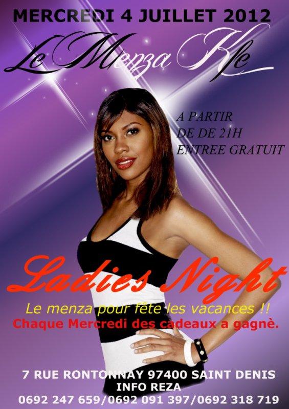 ladies night tout les mercredi 2012