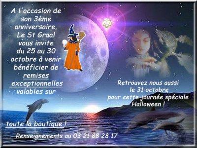3ème anniversaire du St graal Voyance ! — Nord Pas de Calais  - St omer