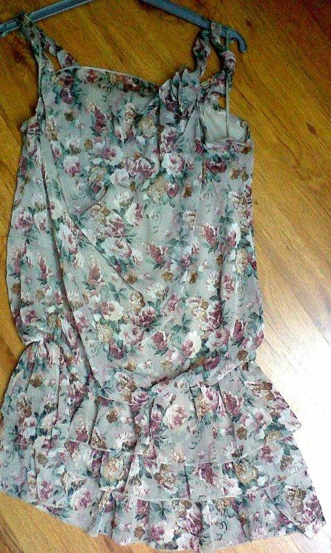 Robe fleurie taille unique
