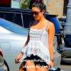 """. •●La belle Vanessa quittant """"Planet Beauty"""" le 28 Juin 2012, à Studio City, après s'être acheté quelques produits de beauté."""