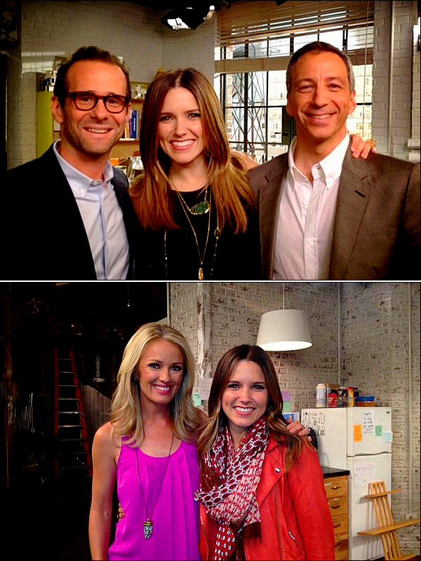 """.De nouvelles photos de Sophia avec le cast de la série """"Partners"""" sont apparues."""