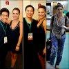 .__•● Voici différentes photos de Sophia en compagnie de fans. Cette dernière se trouve à Manille avec le groupe Foster the people.
