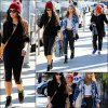 """.-•● Vanessa vue avec sa mère et sa soeur quittant la boutique de lingerie """"Trashy"""" à West Hollywood, le 27 octobre 2012."""