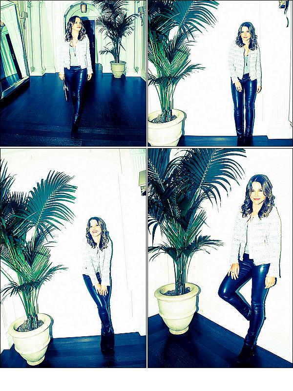 .-•● Photoshoot de miss BUSH pour le site THE COVETEUR.•●