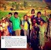. Présentement en Ethiopie, Sophia apparaît sur plusieurs photos.