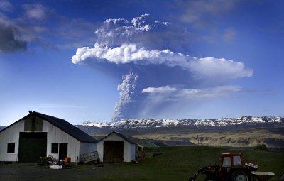 Eruption du Grimsvötn (islande),22-05-2011