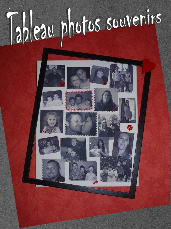 Tableau photos souvenirs