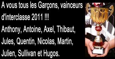 3°1 2010/2011 les meilleurs