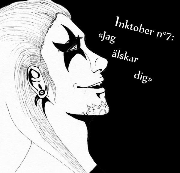 """Inktober  2015 "" 1/2"