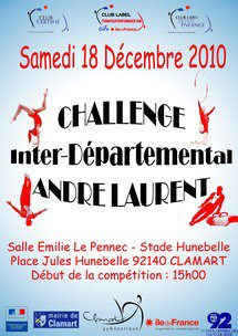 Challenge Inter-Départemental André Laurent à Clamart le 18/12/10
