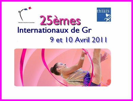 25ème Internationaux de Thiais les 9 & 10 avril 2011