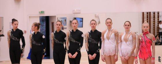 Test en public à l'Insep - 07/01/12 - Ensemble France et Kséniya Moustafaeva