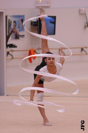Test en public à l'Insep - 07/01/12 - Démo Lucille Chalopin/Julie Marques
