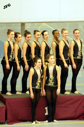 ♥♥♥ Compétition Départementale (94) des Ensembles à Charenton le Pont ♥♥♥ les 4 & 5 février 2012