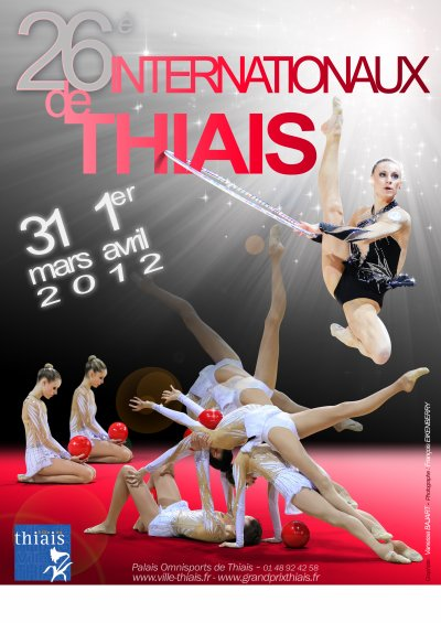 26ème Internationaux de Thiais - 31 mars et 1er avril 2012